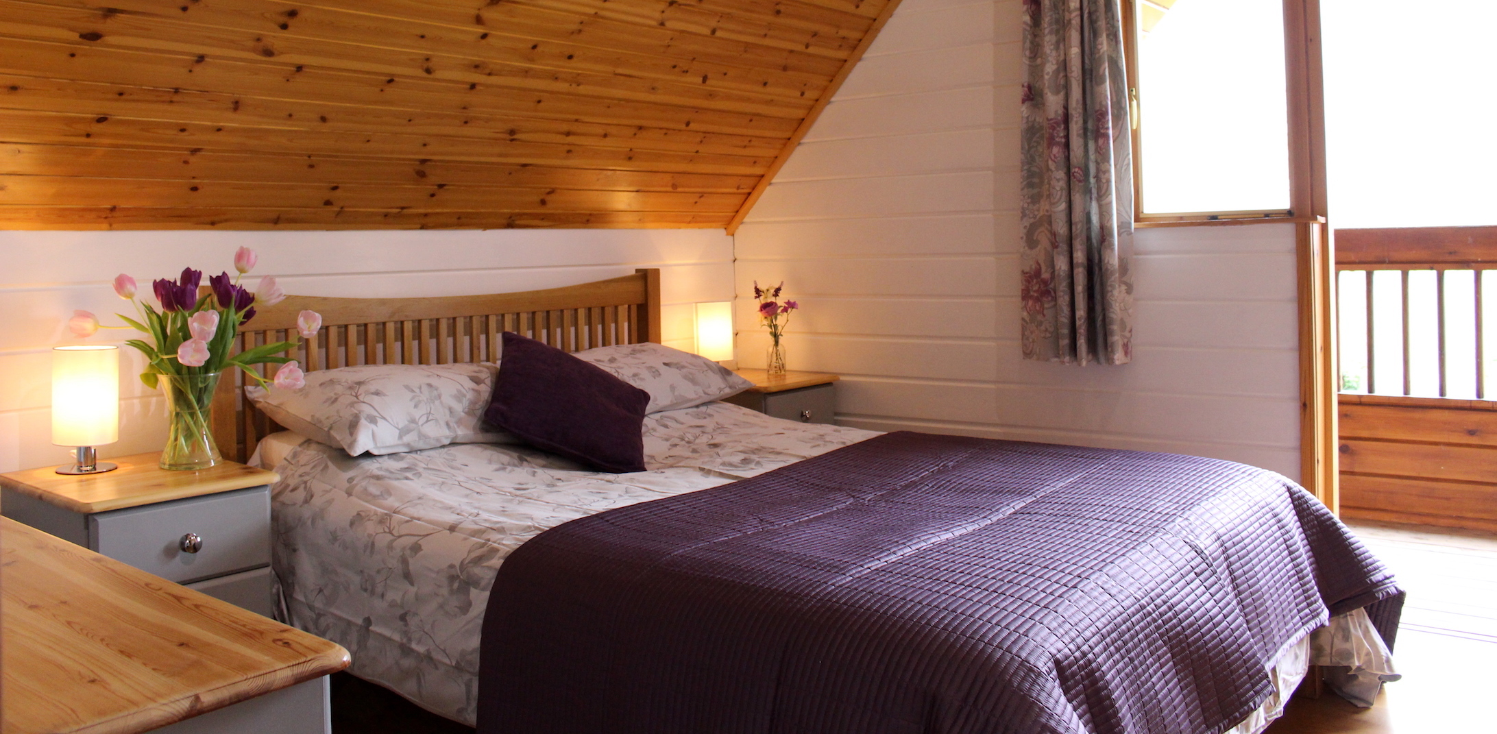 Master Bedroom in self catering s