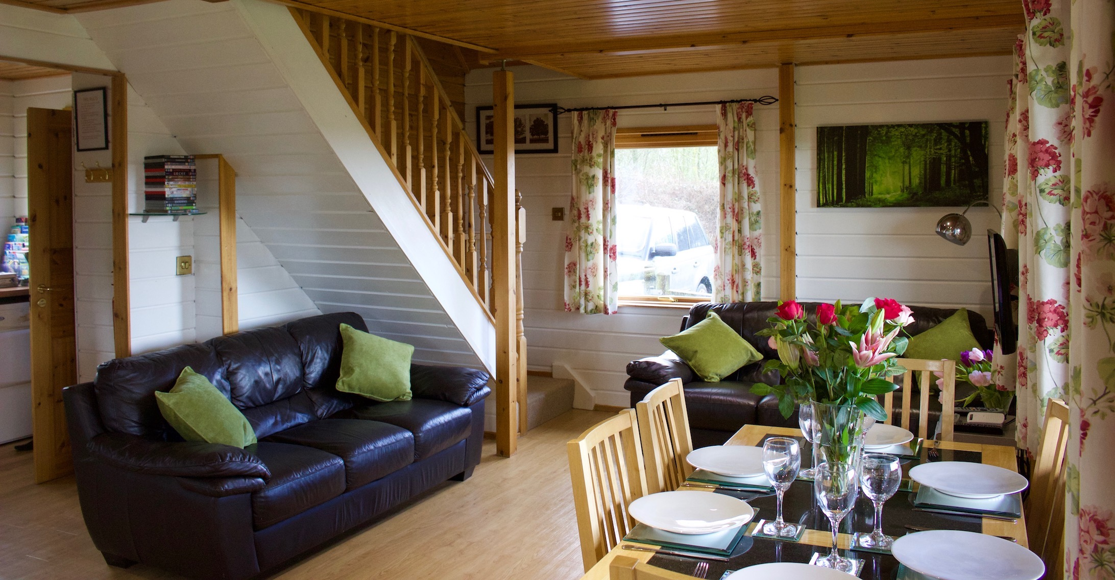 Willow Lodge Lounge perfect for family holidays